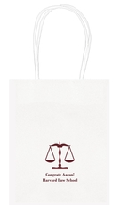 Scales of Justice Mini Twisted Handled Bags