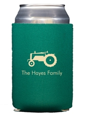 Tractor Collapsible Koozies