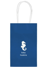 Seahorse Medium Twisted Handled Bags