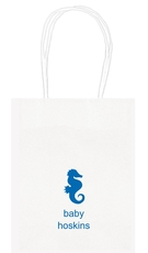Seahorse Mini Twisted Handled Bags