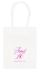 Elegant Sweet Sixteen Mini Twisted Handled Bags