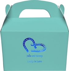 Horse Shoes Large Favor Boxes