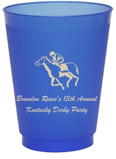 Horserace Derby Colored Shatterproof Cups