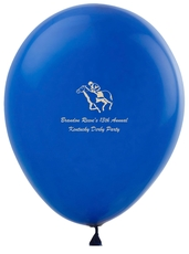 Horserace Derby Latex Balloons