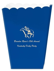 Horserace Derby Mini Popcorn Boxes