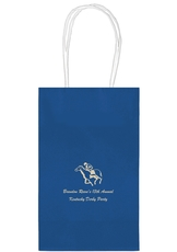 Horserace Derby Medium Twisted Handled Bags