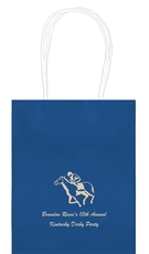 Horserace Derby Mini Twisted Handled Bags