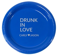 Drunk In Love Plastic Plates