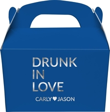 Drunk In Love Gable Favor Boxes