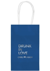 Drunk In Love Medium Twisted Handled Bags
