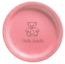 Little Teddy Bear Paper Plates