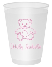 Little Teddy Bear Shatterproof Cups
