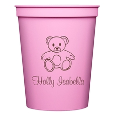 Little Teddy Bear Stadium Cups