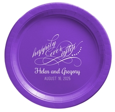 Happily Ever After Paper Plates