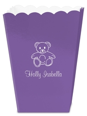 Little Teddy Bear Mini Popcorn Boxes