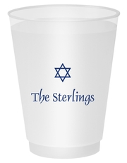 Little Star of David Shatterproof Cups