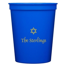 Little Star of David Stadium Cups