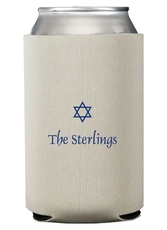 Little Star of David Collapsible Koozies