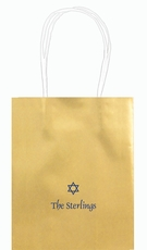 Little Star of David Mini Twisted Handled Bags