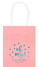Confetti Dots Oh My Mini Twisted Handled Bags