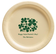 Clovers Paper Plates
