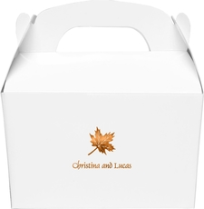 Little Autumn Leaf Large Favor Boxes