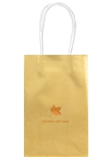 Little Autumn Leaf Medium Twisted Handled Bags