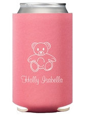 Little Teddy Bear Collapsible Koozies