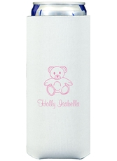 Little Teddy Bear Collapsible Slim Koozies