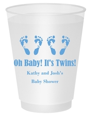 Seeing Double Twinkle Toes Shatterproof Cups