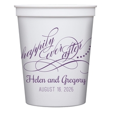 Happily Ever After Stadium Cups