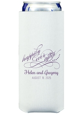 Happily Ever After Collapsible Slim Koozies