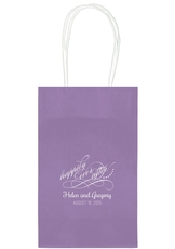 Happily Ever After Medium Twisted Handled Bags