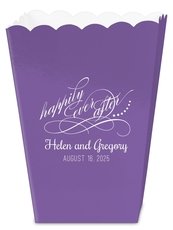 Happily Ever After Mini Popcorn Boxes