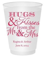 Hugs and Kisses Shatterproof Cups