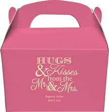 Hugs and Kisses Gable Favor Boxes