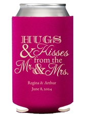 Hugs and Kisses Collapsible Koozies
