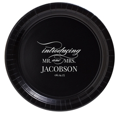 Introducing Mr and Mrs Paper Plates