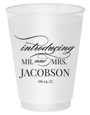 Introducing Mr and Mrs Shatterproof Cups