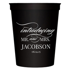 Introducing Mr and Mrs Stadium Cups