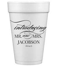 Introducing Mr and Mrs Styrofoam Cups