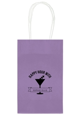 Happy Hour Martini Medium Twisted Handled Bags