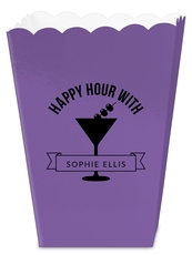 Happy Hour Martini Mini Popcorn Boxes