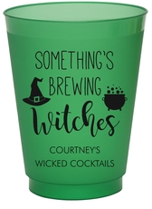 Something's Brewing Witches Colored Shatterproof Cups