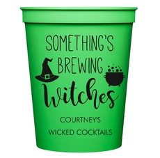 Something's Brewing Witches Stadium Cups