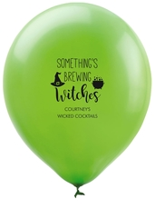 Something's Brewing Witches Latex Balloons