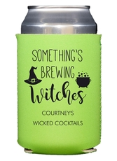 Something's Brewing Witches Collapsible Koozies
