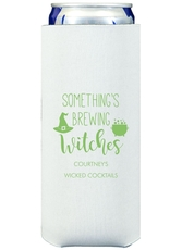 Something's Brewing Witches Collapsible Slim Koozies