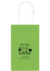 Something's Brewing Witches Medium Twisted Handled Bags