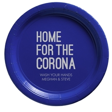 Home For The Corona Paper Plates